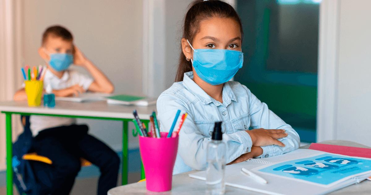 la vuelta a la escuela durante la pandemia